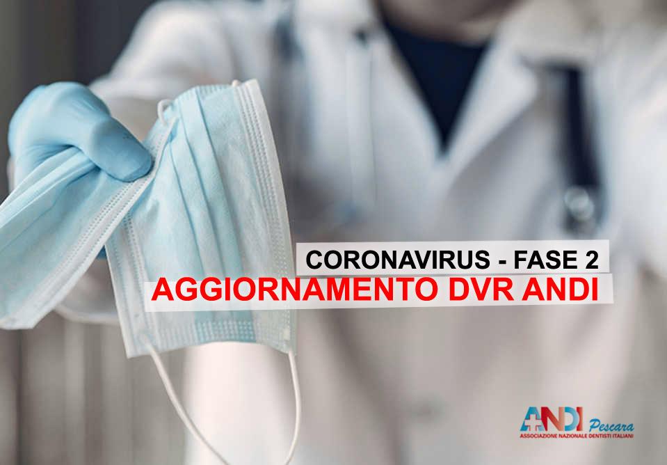 CORONAVIRUS FASE 2: AGGIORNAMENTO DVR ANDI (Diretta Live)