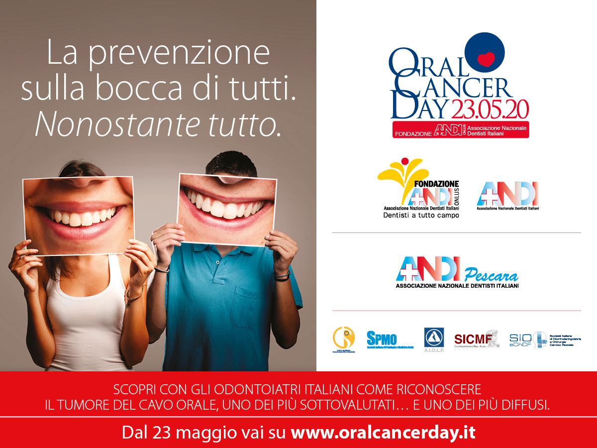 ORAL CANCER DAY: LA PREVENZIONE È SULLA BOCCA DI TUTTI